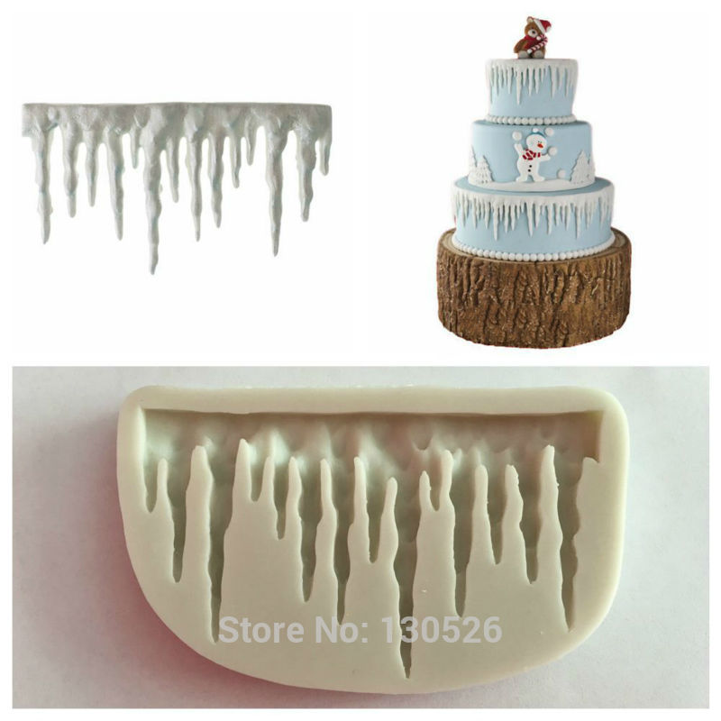 Icicle Cake Decorations