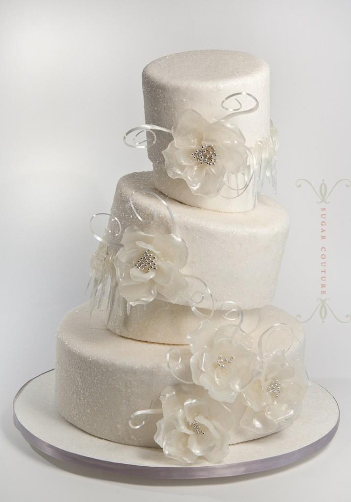 Icicle Wedding Cake
