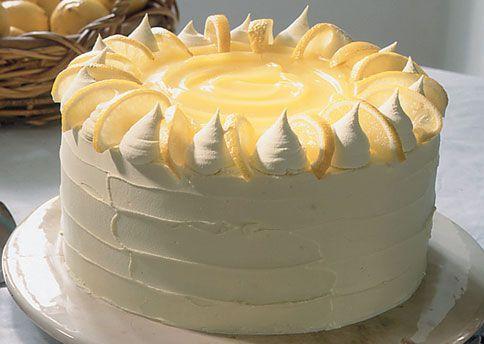 Lemon Curd Layer CakeTall