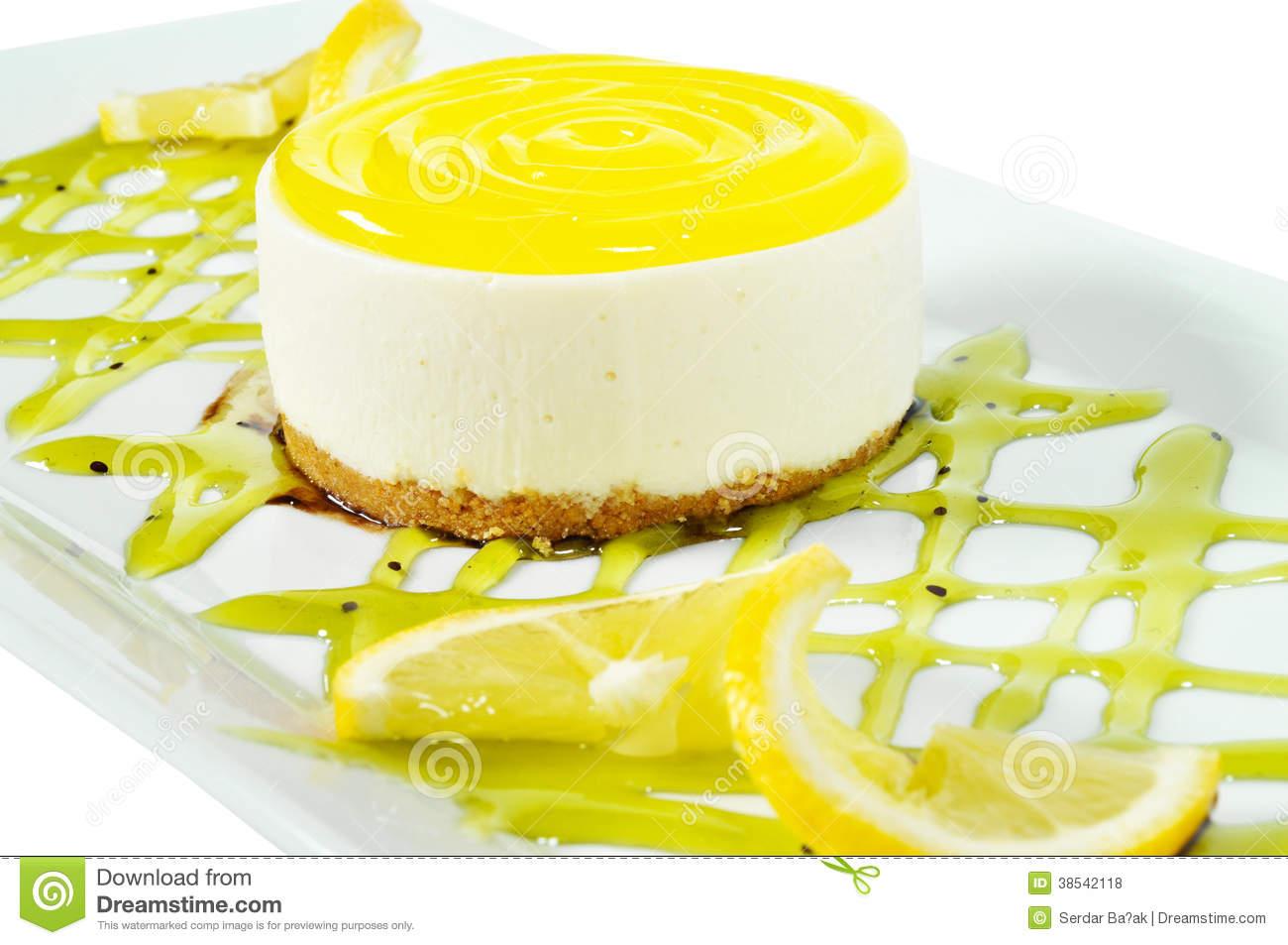 Lemon Delicious Looking Cakes
