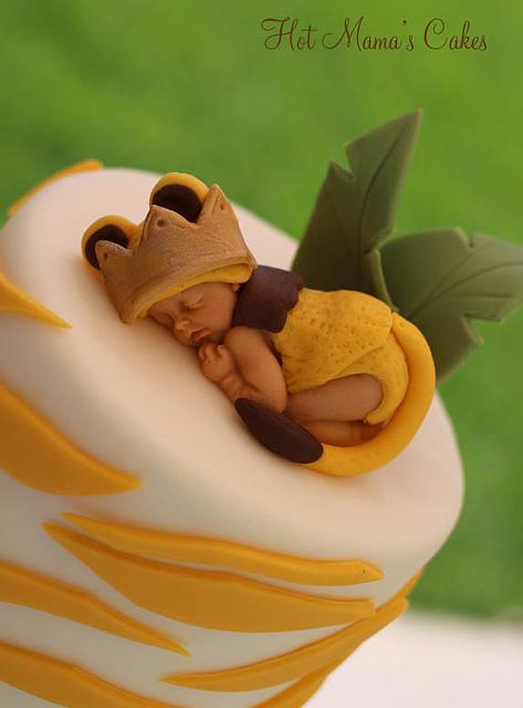 Lion King Baby Shower Cake