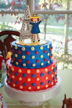 Madeline Birthday Party Cake