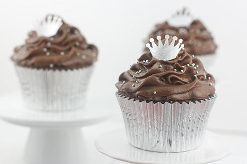 Mini Chocolate Peppermint Cupcakes