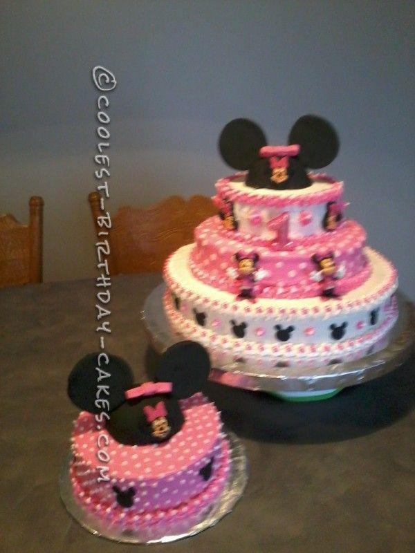Minnie Mouse 1st Birthday Cake Ideas
