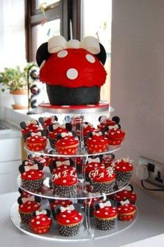 8 Photos of Minnie Mouse Cakes For Teenage Girls