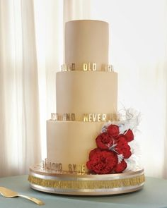 New Year's Eve Wedding Cake Idea