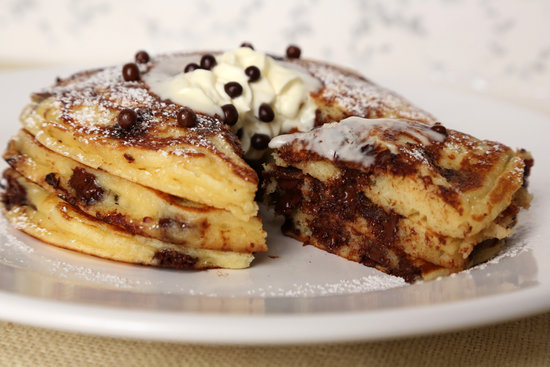 Pancakes with Chocolate Chips