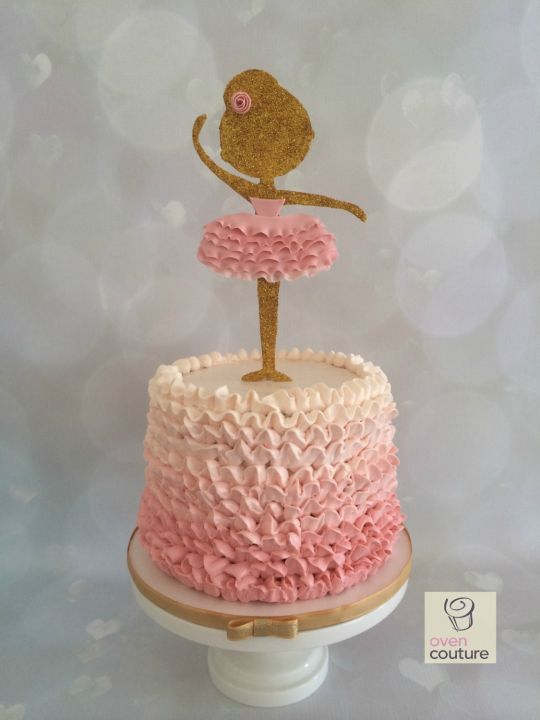 Pinterest Ballerina Girls Birthday Cakes