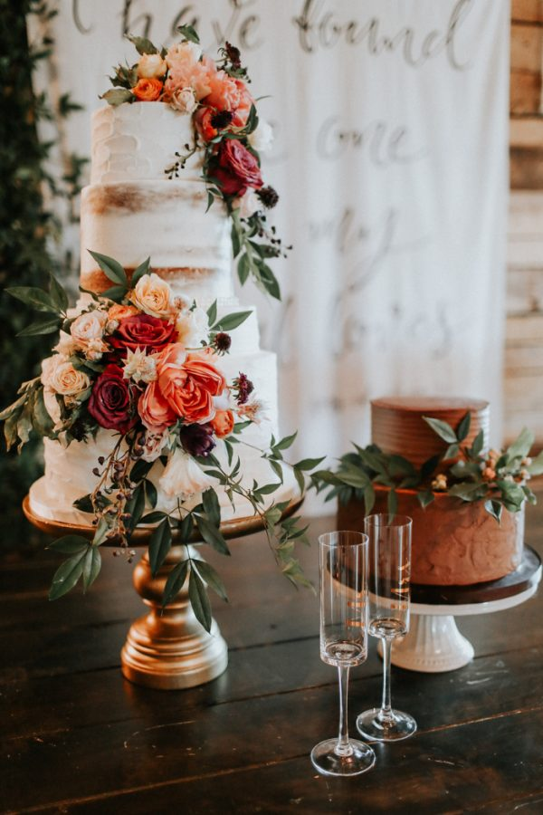 Pinterest Fall Wedding Cakes