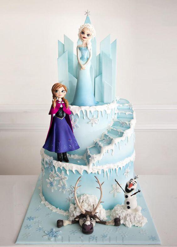 Pinterest Frozen Cake