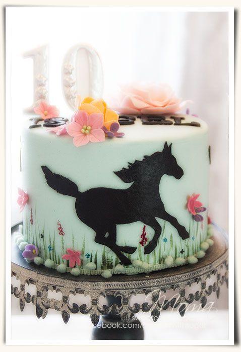 Pinterest Horse Birthday Cake