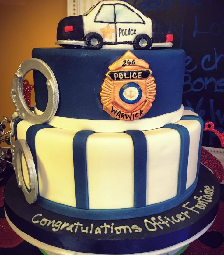 Police Officer Cake Ideas