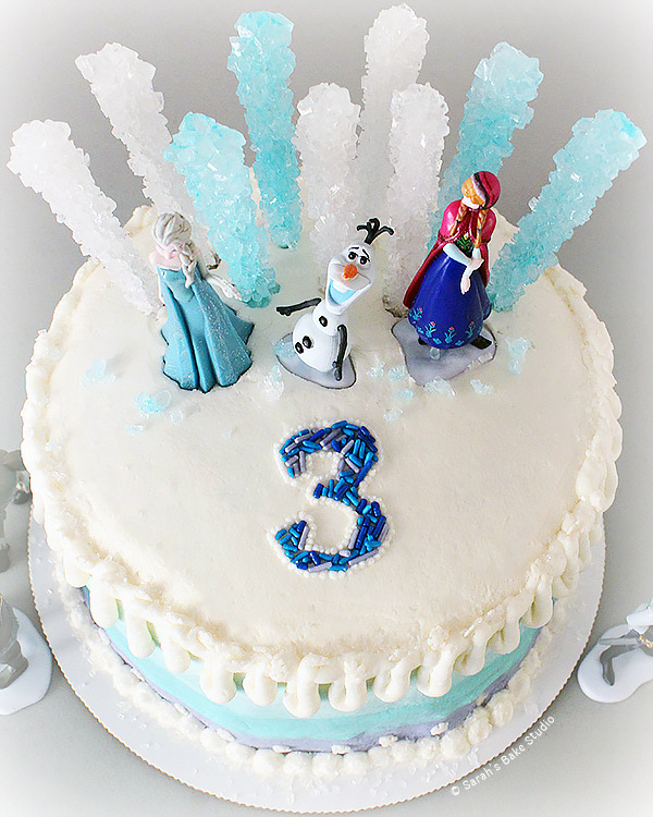 Rock Candy Birthday Cake Frozen