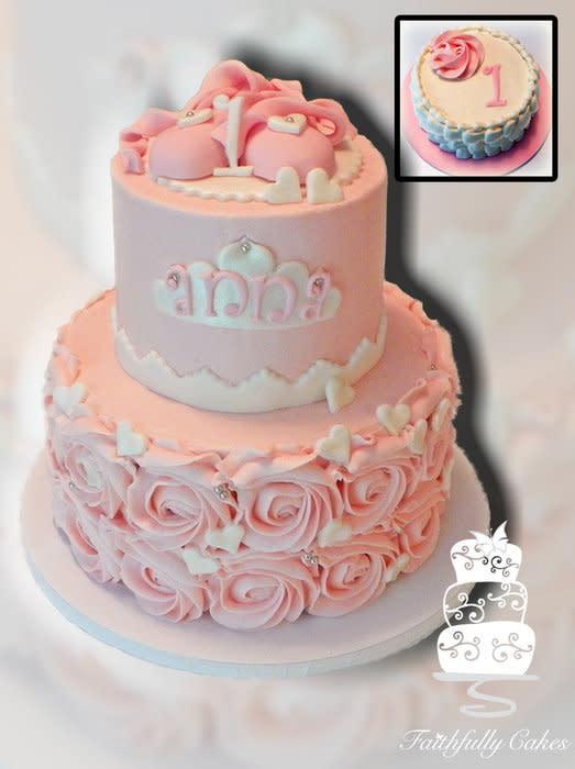 Rosettes Birthday Cake Ballet