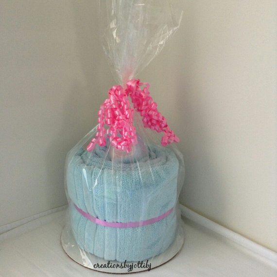 Spa Towel Cake