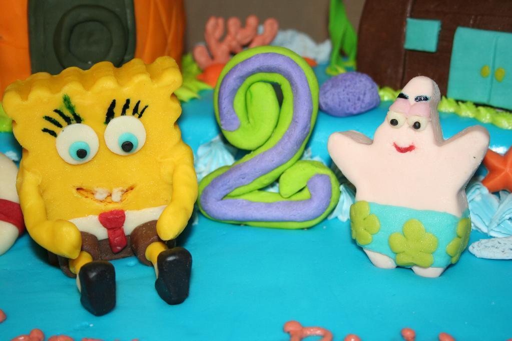 Spongebob Birthday Cake Boys
