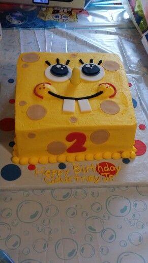 Spongebob Birthday Cake Idea