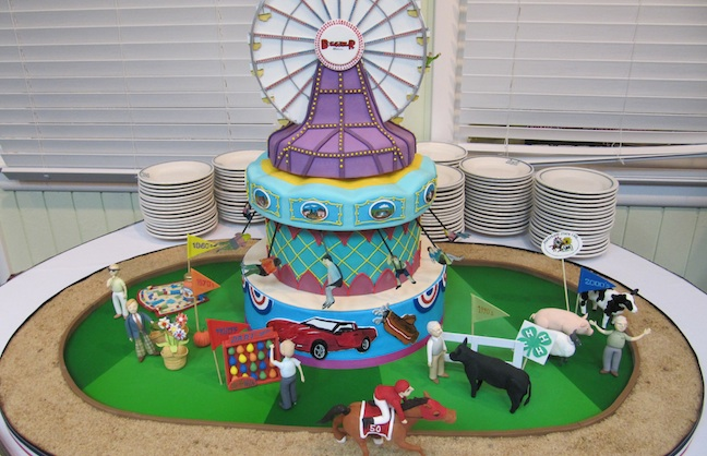 State Fair Themed Cakes