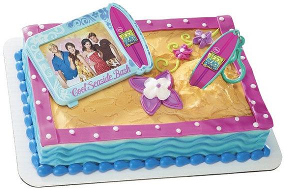 Teen Beach Movie Birthday Cake