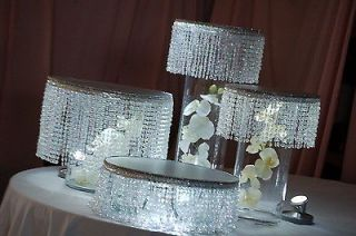 Tiered Wedding Cake Stands