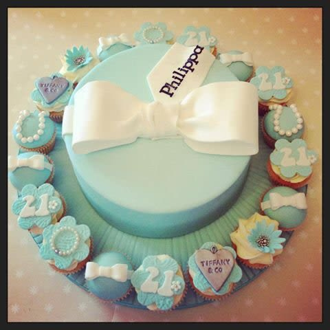 Tiffany Cake and Cupcake