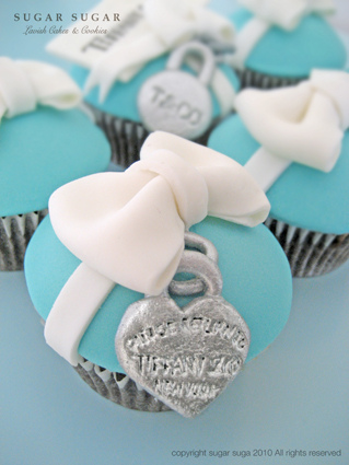 Tiffany&Co Cupcake Ideas