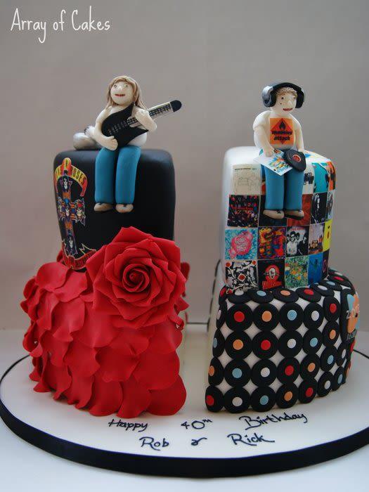 Twin Birthday Cake Ideas