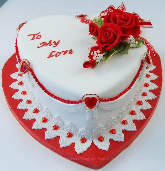 Valentine's Day Cake Decorating Ideas