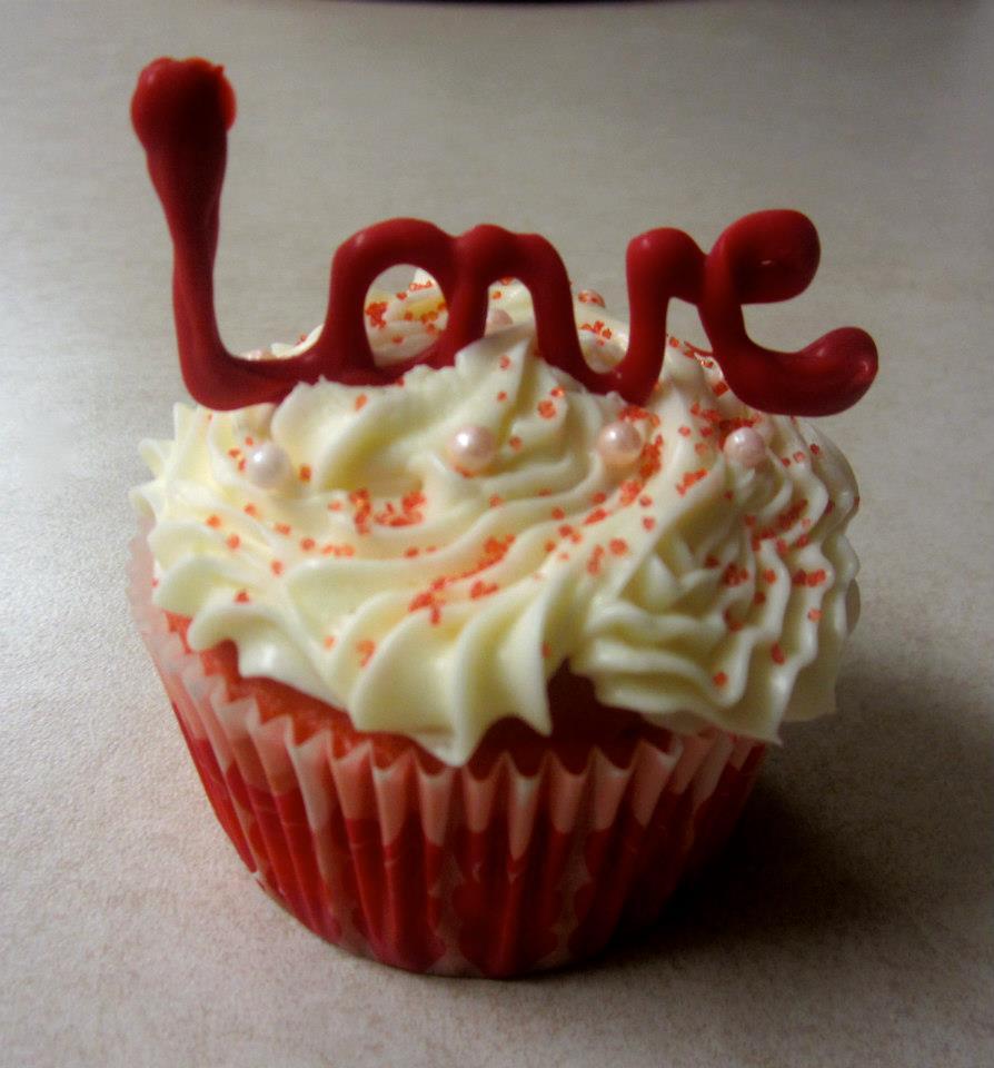 Valentine's Day Cupcake Cake Ideas