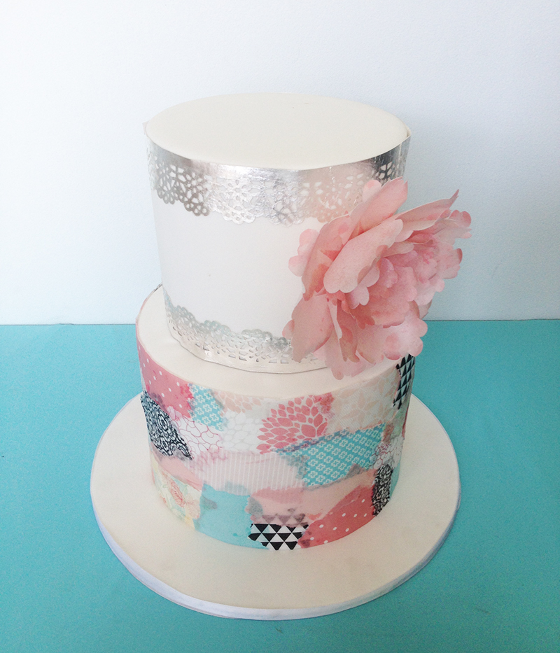 Wafer Paper Cake