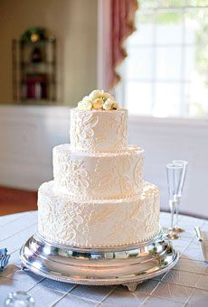 Wedding Cakes with Buttercream Frosting