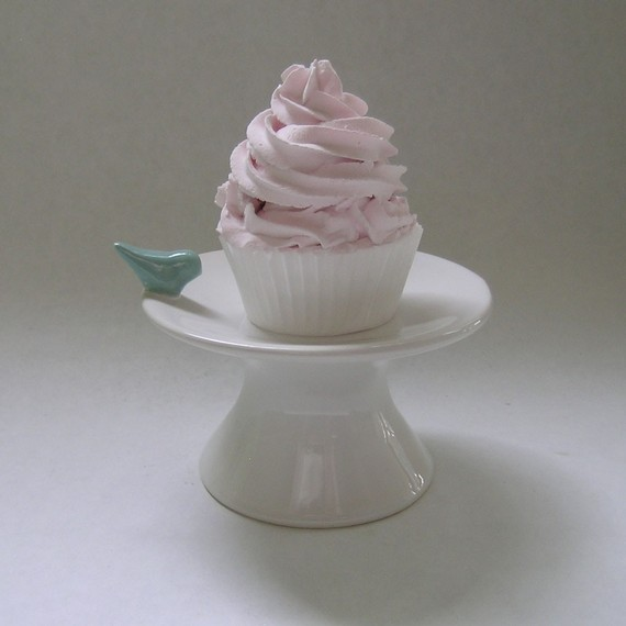 White Ceramic Cupcake Stands