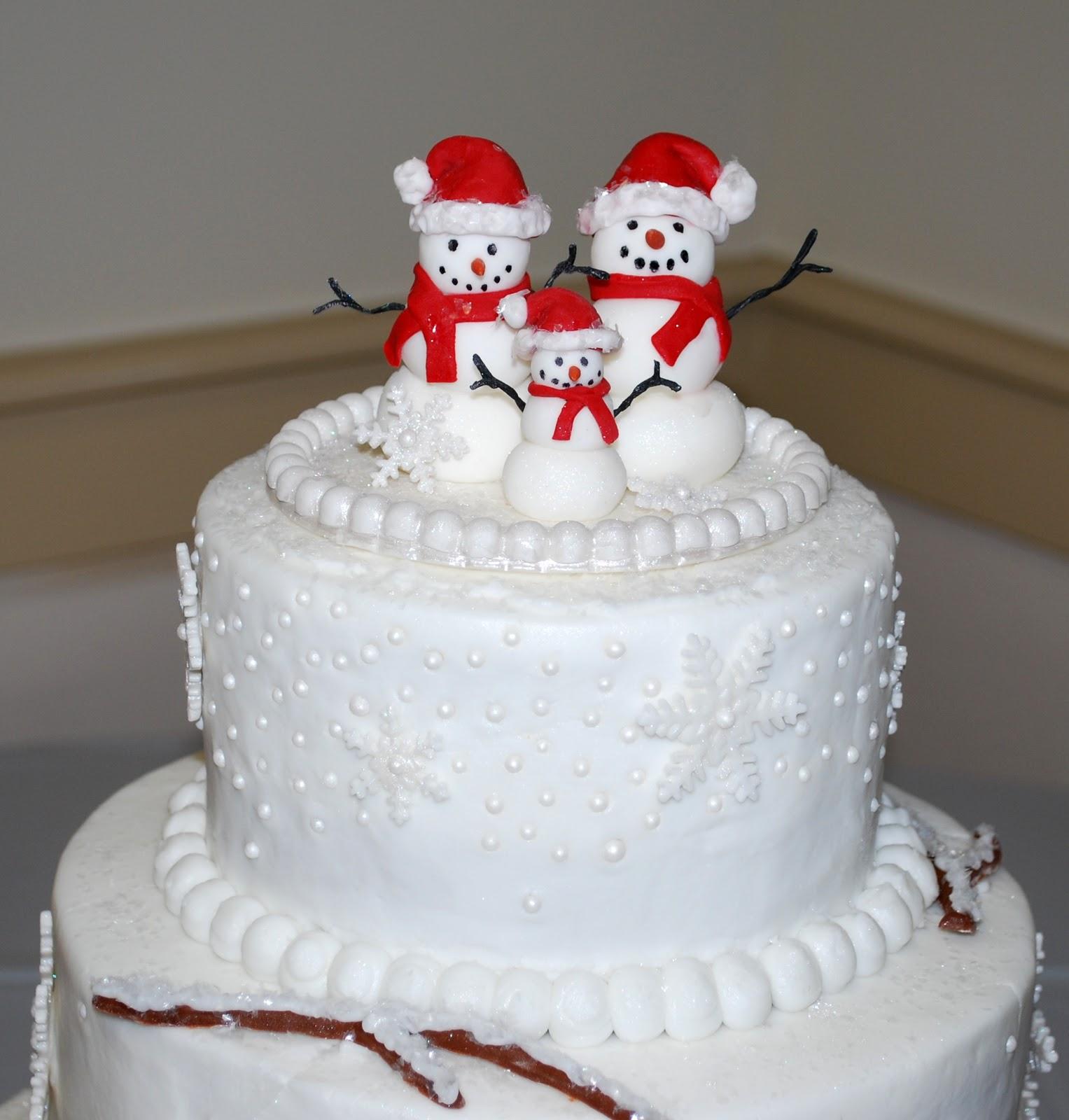 Winter Wonderland Cake Ideas