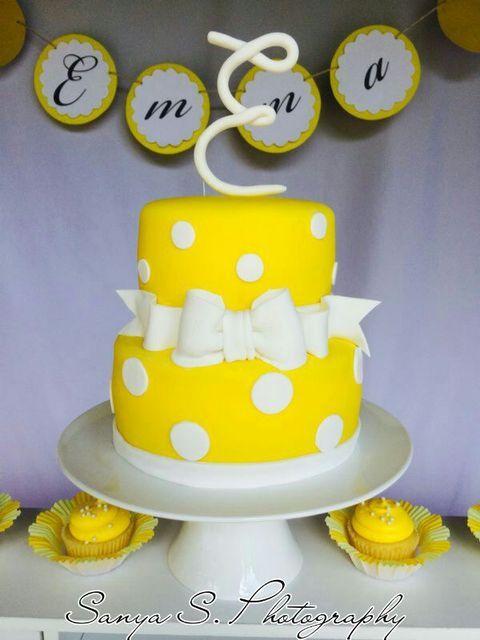 Yellow Birthday Cake Ideas