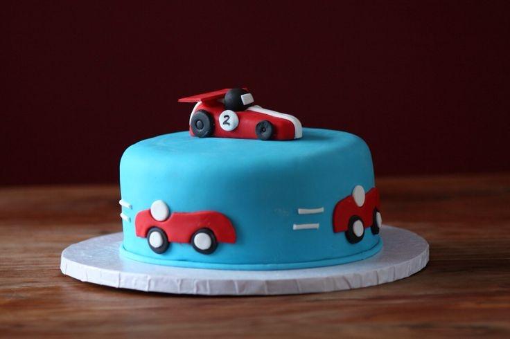 2 Year Old Boy Birthday Car Cakes