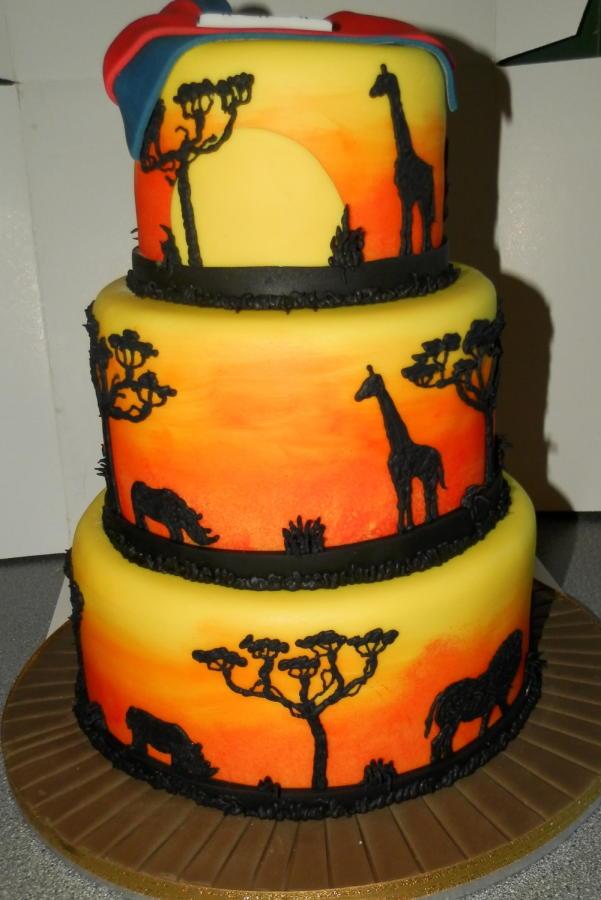 African Theme Birthday Cakes