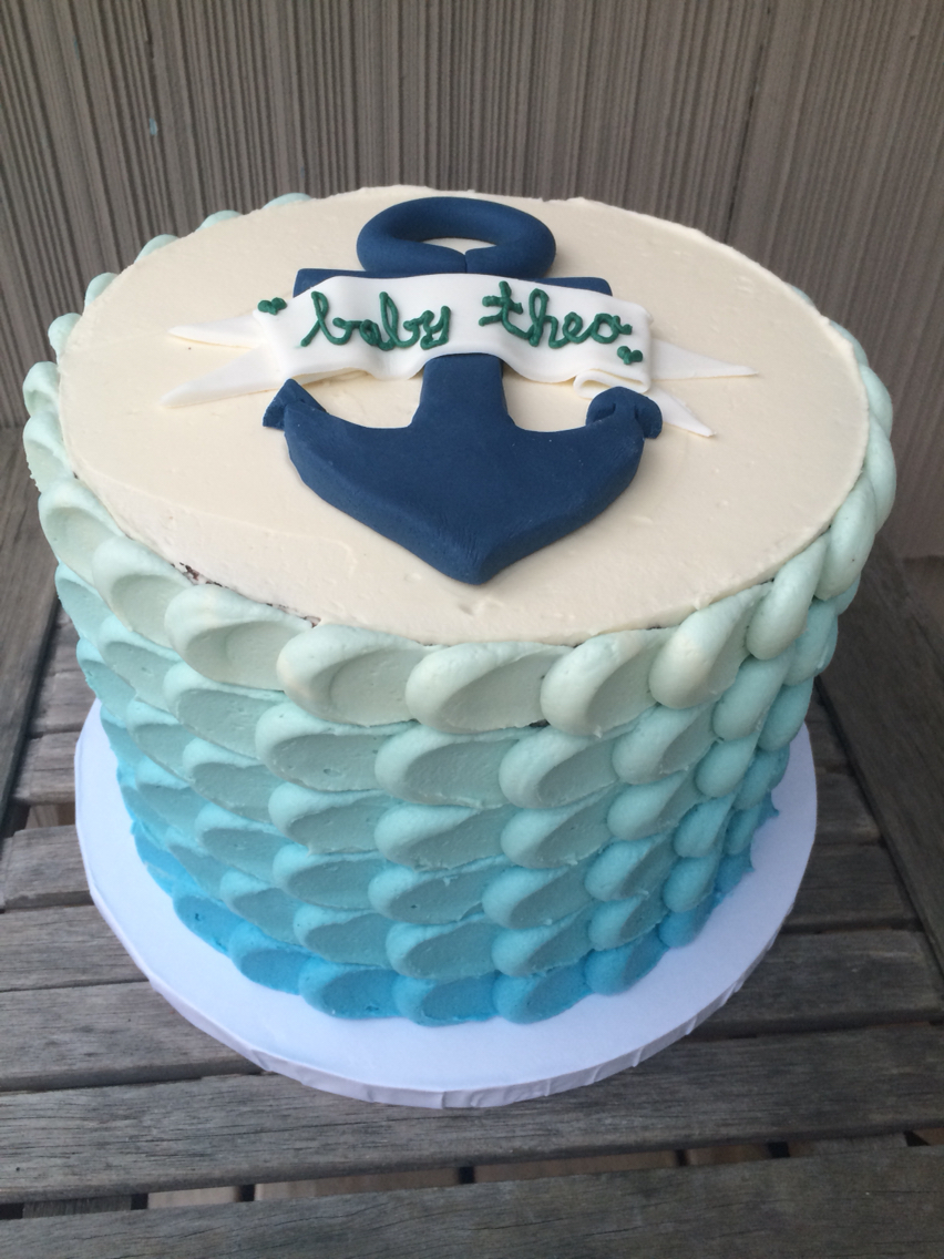 Baby Shower Cake Decorations for Boys