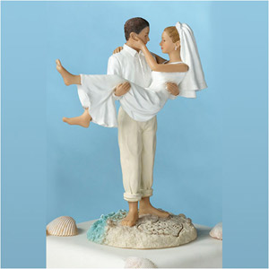 Beach Wedding Cake Topper