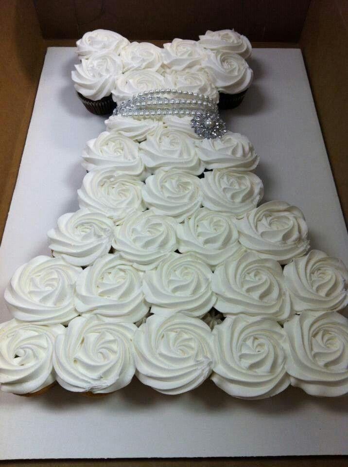Bridal Shower Cupcake Dress