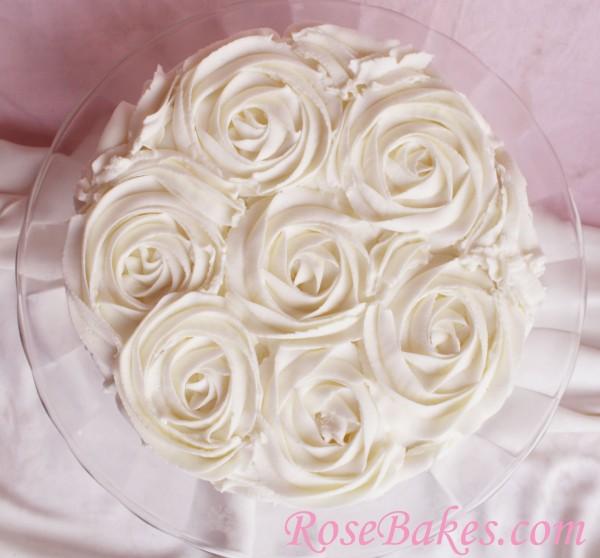 Buttercream Cake Borders | Three White Cakes