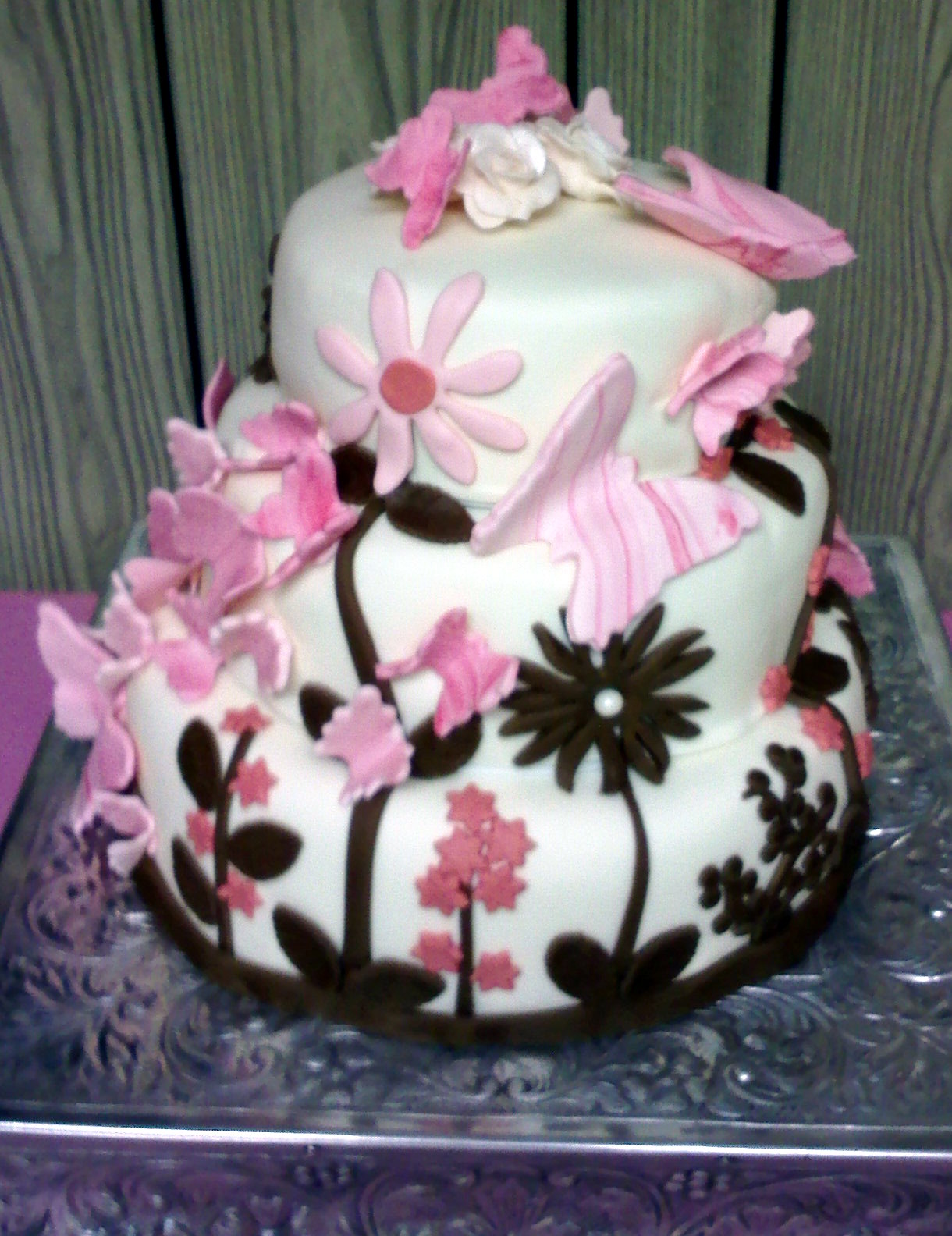 Butterfly Baby Shower Cake Ideas