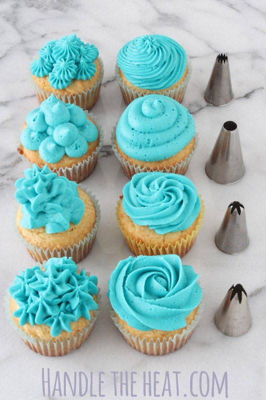 Cake Decorating Tips Cupcakes