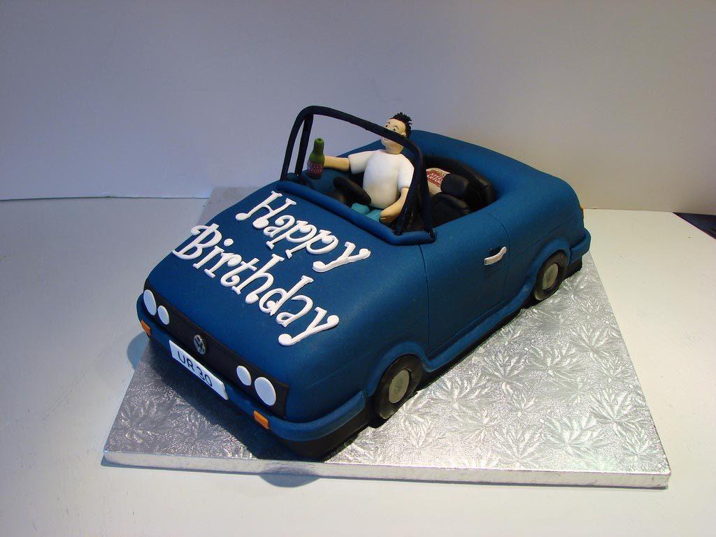 Cars Birthday Cake Idea