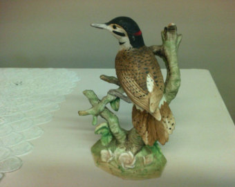 Ceramic Woodpecker