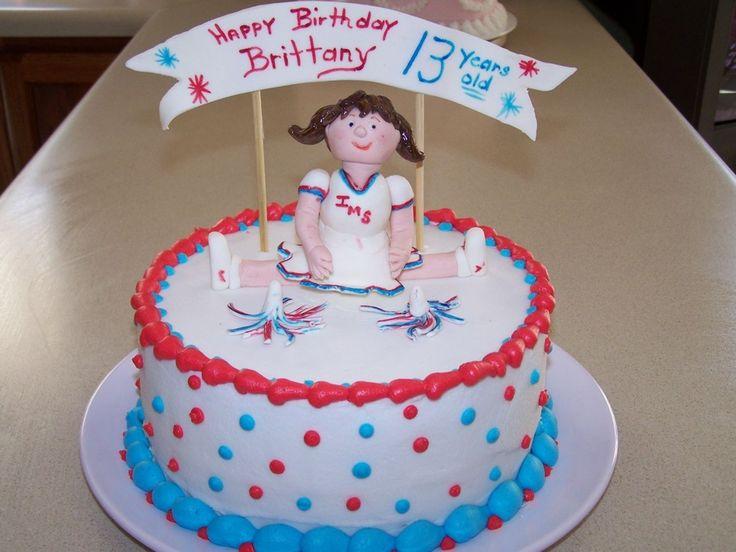 Cheerleader Birthday Cake Ideas