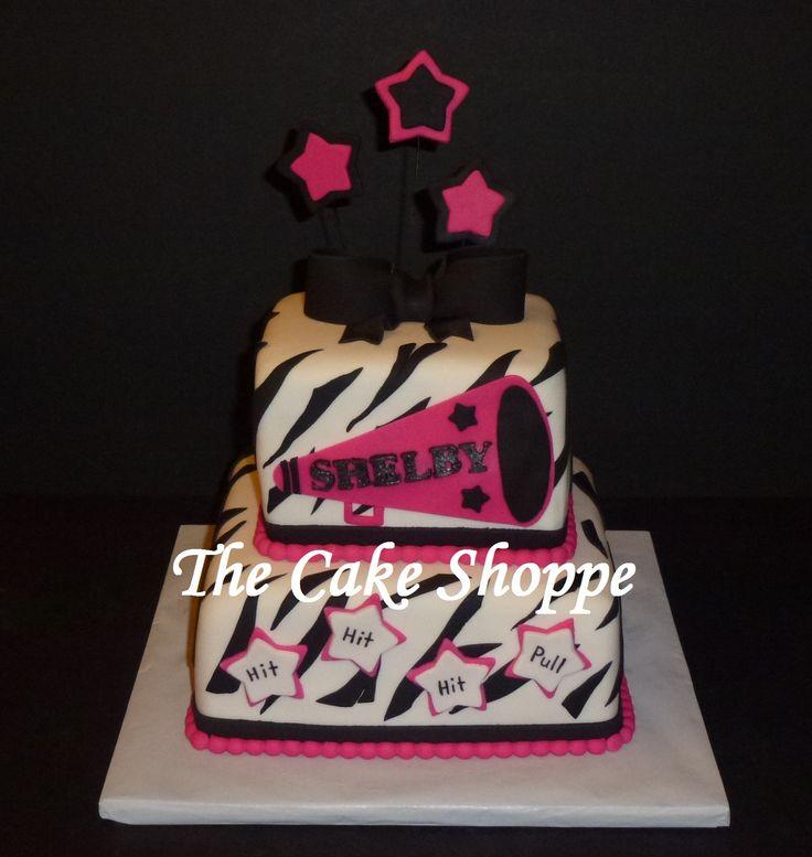 Cheerleading Cheerleader Cake