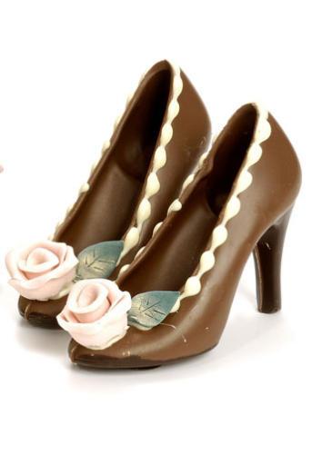 Chocolate Shoe Molds to Make Shoes