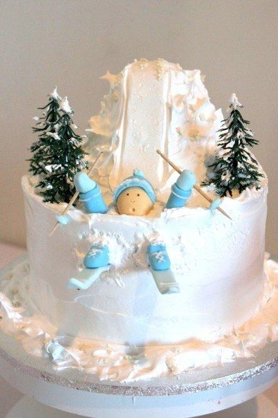 10 Photos of Funny Winter Cakes