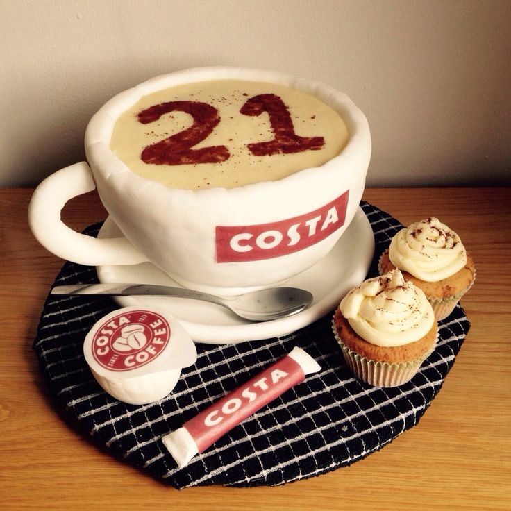Coffee Birthday Cake