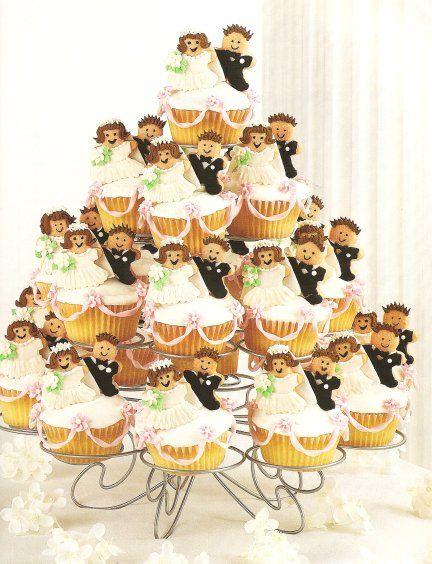Cupcake Cake Bridal Shower Idea